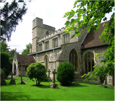 St Dunstans Church, Monks Risbrough, Oxfordshire