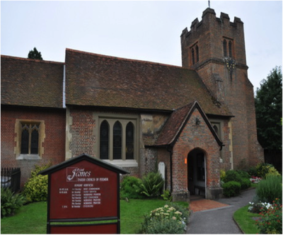 St James church, Fulmer, Buckinghamshire