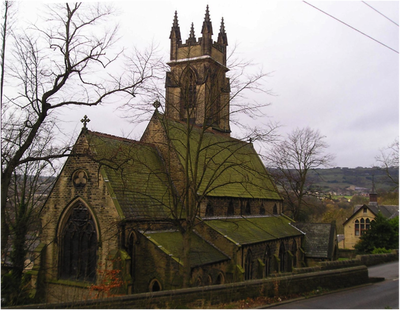 St Marks church, Longwood, Huddersfield