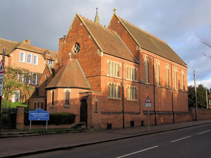 Abbots Bromley Boarding School for Girls Church, Staffs