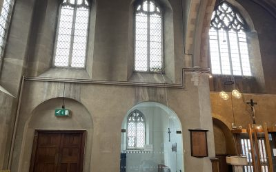 St Lukes church,Eltham park, Completely new church heating system